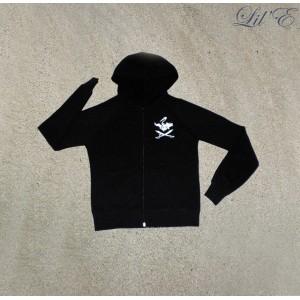 California fleece zip hood